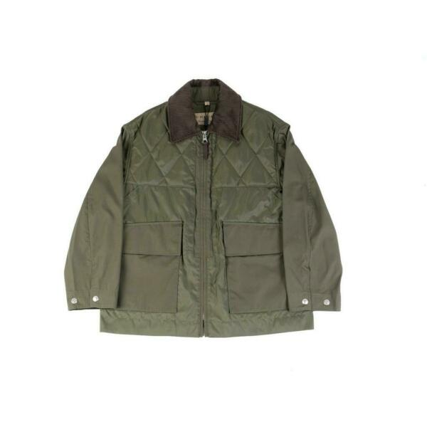 SALE Burberry Green Short Coat size M $200.00