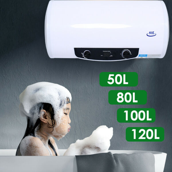 Electric Tank Hot Water Heater Kitchen Bathroom Home 2000W 50L 80L 100L 120L USA $209.07