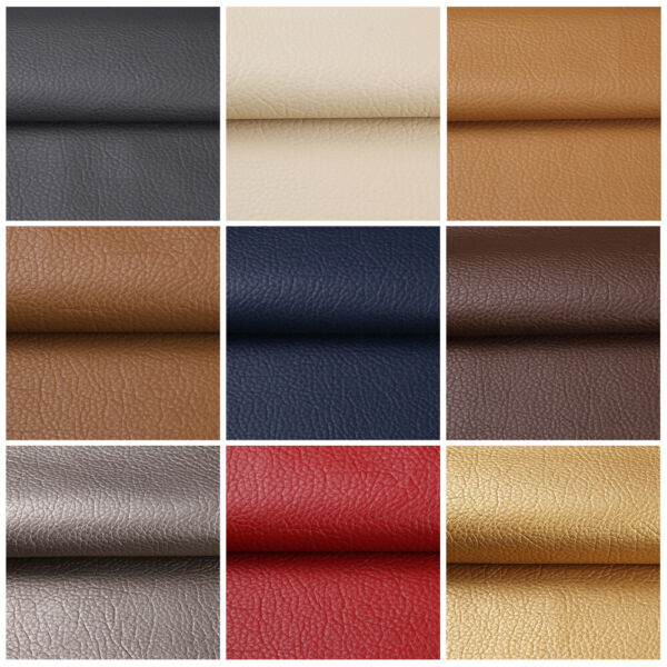 1 3 5 Yards Faux Leather Fabric Upholstery Pleather Marine Vinyl Fabric 54quot; Wide