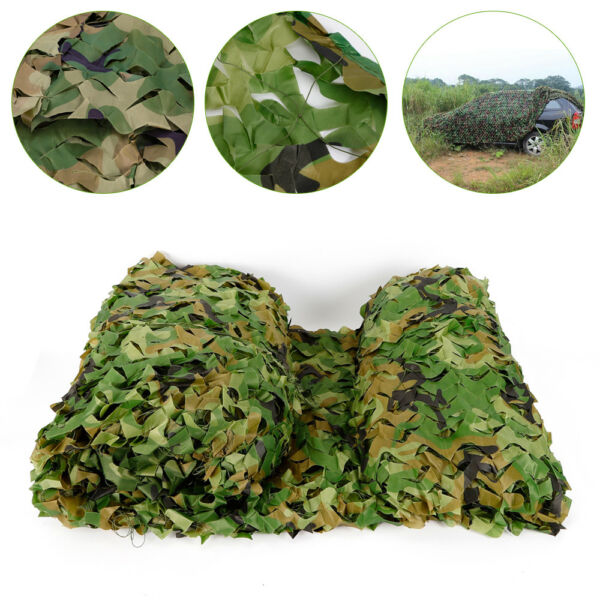 26x26FT Polyester Fabric Camouflage Netting Hunting Camping Camo Cover Net SALE $83.00