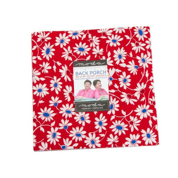 Moda Back Porch Layer Cake Fabric Me amp; My Sister Designs 42 10quot; Quilting Squares