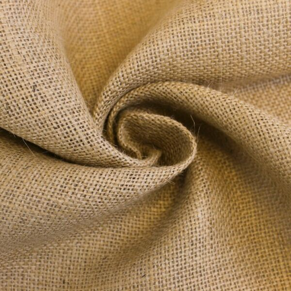 Natural Burlap Fabric 5YARDS 40#x27;#x27; Wide Style 7202