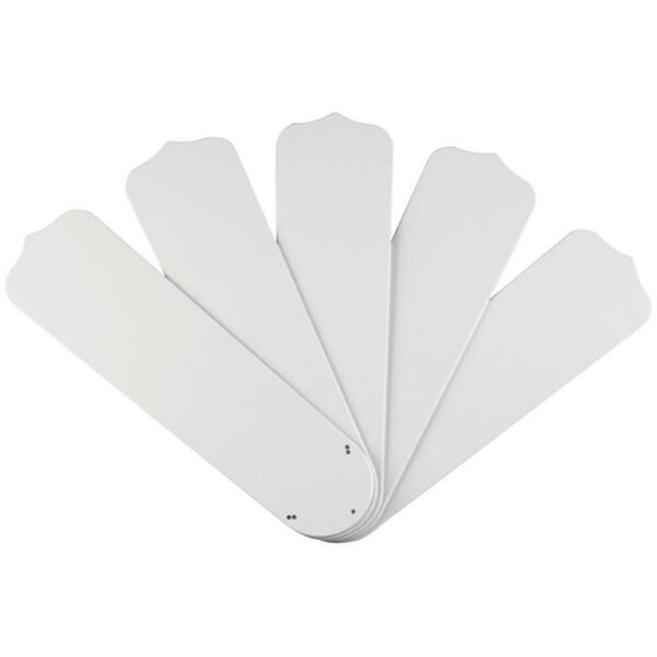 Commercial Electric 52 in. White Outdoor Replacement Fan Blades 5 Pack $27.85