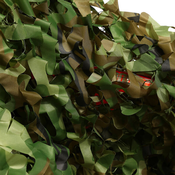 Camouflage Netting Camo Net Woodland Camping Hunting Leaves Cover Hide Army USA