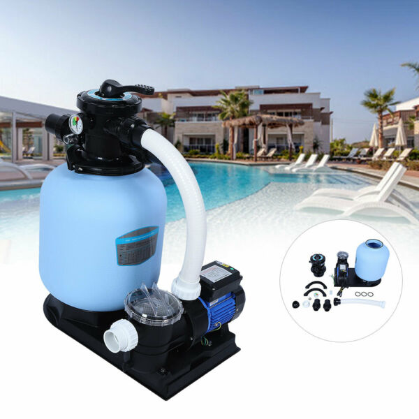 Electric Filter Pump Swimming Pool For Above Ground Pools Water Circulating Tool $208.58