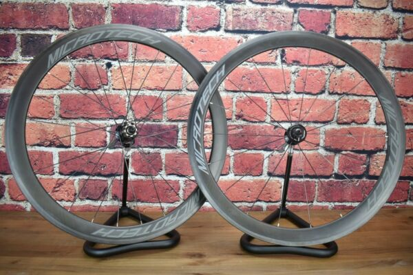 Basso Microtech 50mm Carbon Clincher Wheelset Campagnolo 9 12 Speed 700c $700.00