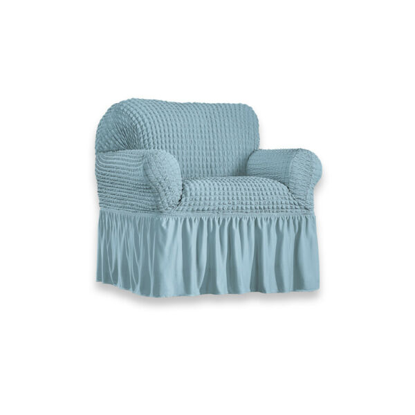 Classic Textured Ruffle Stretch Slipcover $29.99