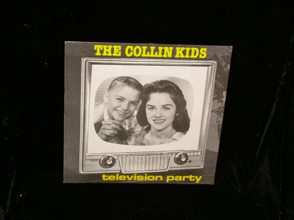 The Collins Kids LP TV 5758 Television Party 1989 ITALY Rockabilly