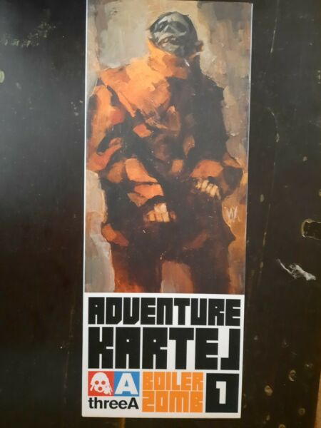 ThreeA Adventure Kartel Boiler Zomb 1 6 Ashley Wood $199.00