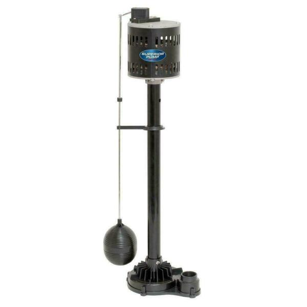 Pedestal Sump Pump Non Submersible Cast Iron Vertical Solid Steel Shaft NEW $69.69