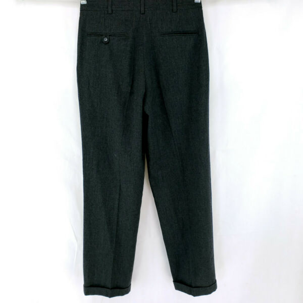 Vintage 32x32 Barrington 70s 80s Worsted Wool Dress Pants Thick Winter Weight