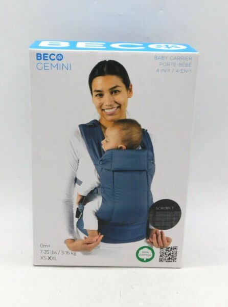 Beco Gemini Baby Carrier 4 in 1 7 35 LB $72.99