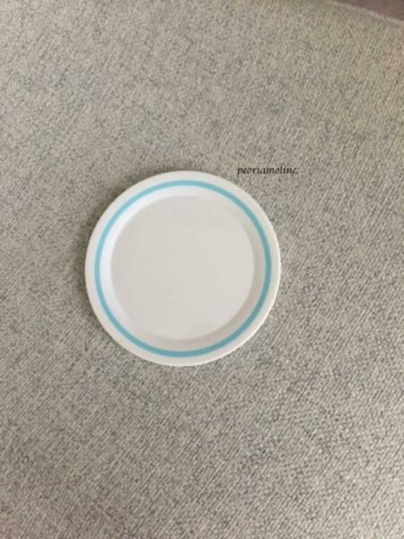 American Girl large PLATE from pizza party set 18quot; dolls NEW $6.75