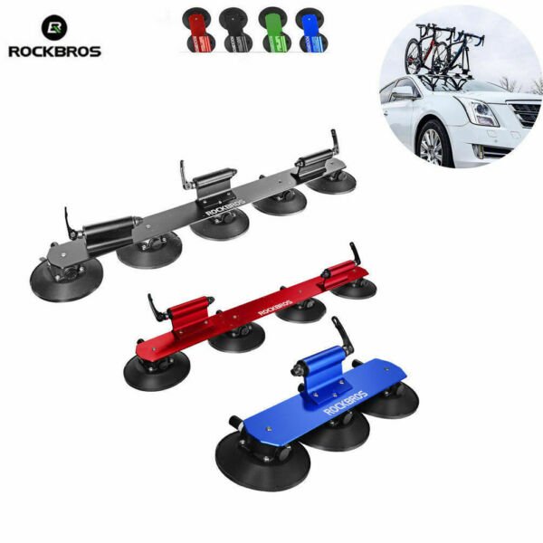 ROCKBROS Bike Bicycle Rack Carrier Suction Roof top Quick Installation Roof Rack $179.99