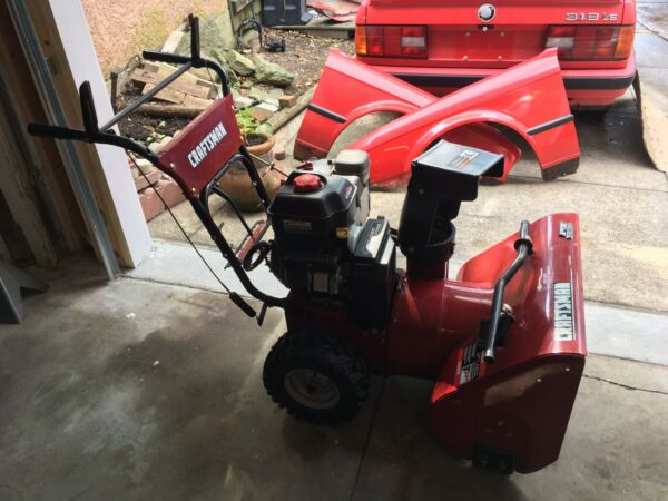 "CRAFTSMAN 6.0HP 24"" Self Propelled Gas Snow Blower"
