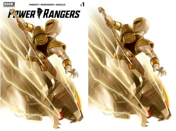 POWER RANGERS 1 MIGUEL MERCADO VIRGIN VARIANT EXCLUSIVE SET TOMMY WHITE RANGER $19.99