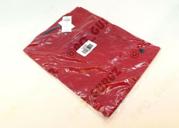 BRAND NEW with Tag Hollister Men#x27;s Must Have Crewneck RED T shirt Size L Large $10.99