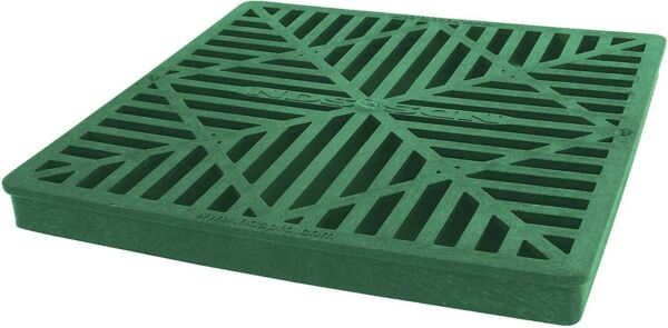 NDS 980 9 Inch Square Grate Green NEW
