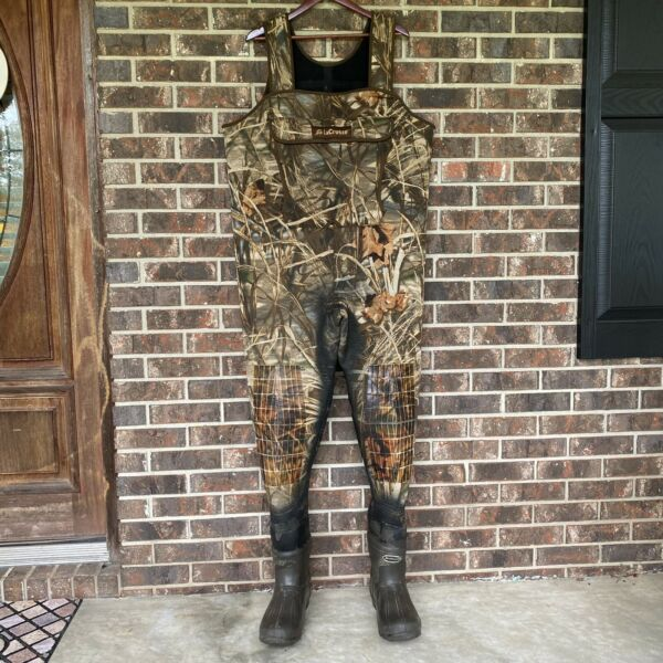 Lacrosse Waders Advantage Max 4 HD Duck Blind 1000g Ultra Thinsulate Size 11