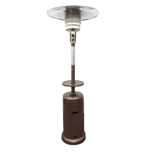 🔥NEW HILAND PATIO HEATER 48000 BTU Propane Hammered BRONZE✅FAST FREE SHIP✅🔥