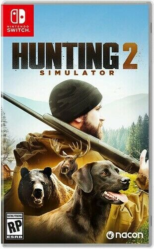 Hunting Simulator 2 for Nintendo Switch New Video Game $39.99