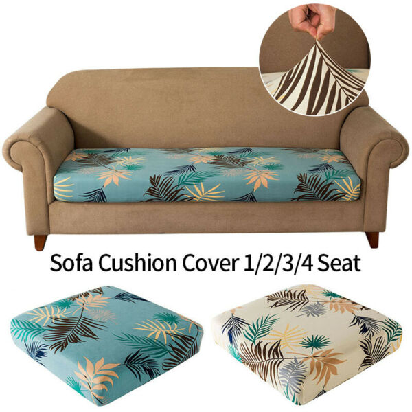 1 2 3 4 Seater Sofa Cushion Cover Stretch Slipcover Sofa Couch Seat Protector US $12.14