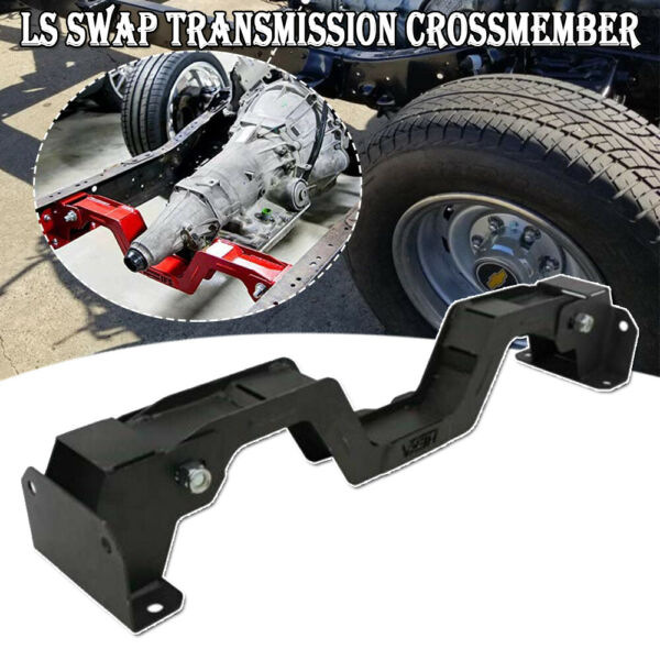 LS Swap Transmission Crossmember durable for 1963 1972 CHEVY C10 GM Trunk PickUp $139.99