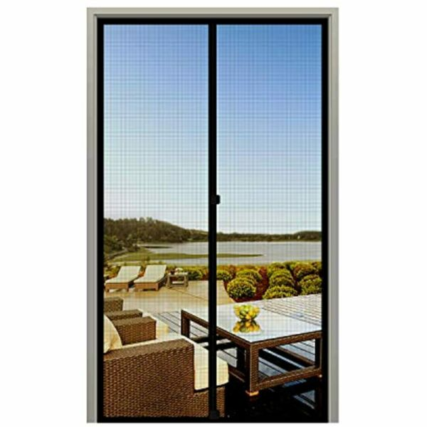 French Screen Door 32 X 96 Magnetic Durable Fiberglass Mesh With Heavy Duty Up