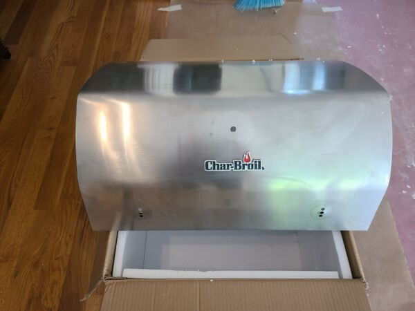 Char Broil Tru Infrared 3 Burner Gas Replacement Grill Lid Cover Handle OEM