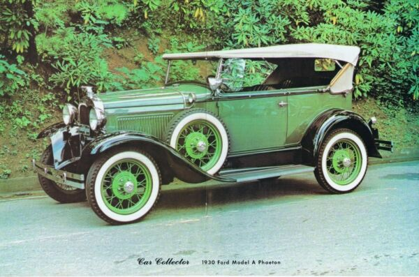 1978 Article 1930 FORD MODEL A PHAETON