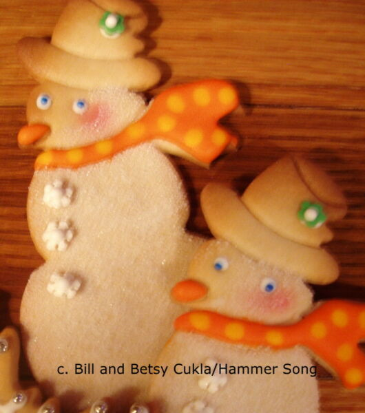 RETIRED B. CUKLA HAMMER SONG SNOWMAN FROSTY SNOWMAN CHRISTMAS COOKIE CUTTER