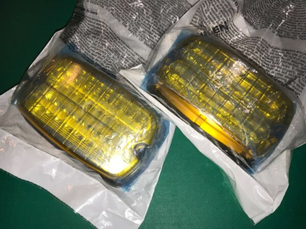 Pair of Whelen M6 Amber Linear Surface Mount LED Lights M6A