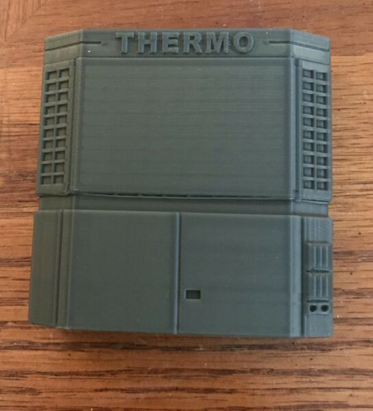 1:32 Scale Thermo King SB III SR Reefer Cooler for Semi Trailer 3D Printed NEW $19.95