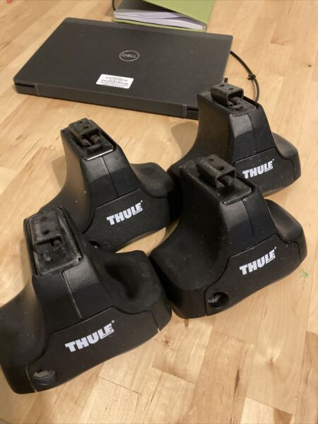 Black Friday Thule 480 Rapid Traverse Foot Packs 4ct great shape free shipping $79.00