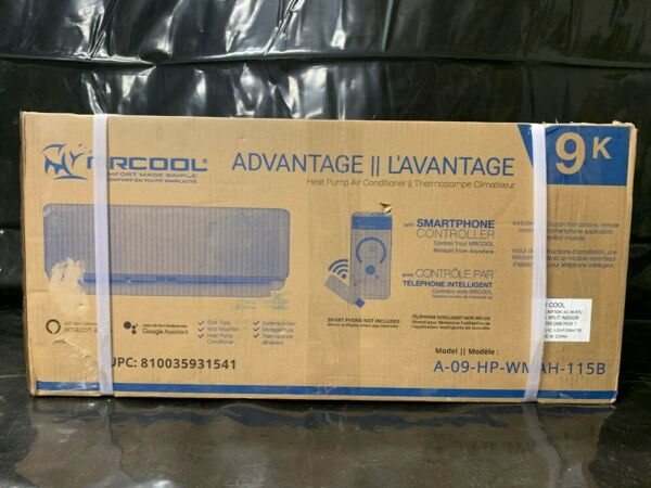 MrCool Advantage Heat Pump Air Conditioner Indoor Unit Only w remote $250.00