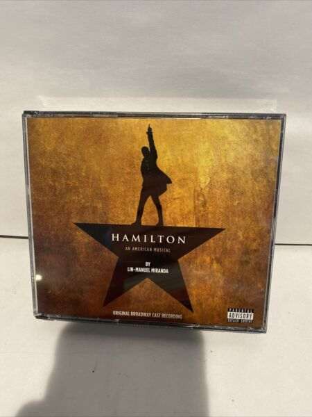Hamilton Original Broadway Cast Recording Explicit 2CD