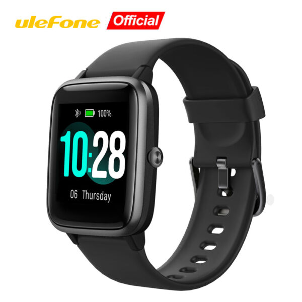 Ulefone Smart Watch Bluetooth Fitness Tracker Heart Rate Monitor For Android IOS $19.99
