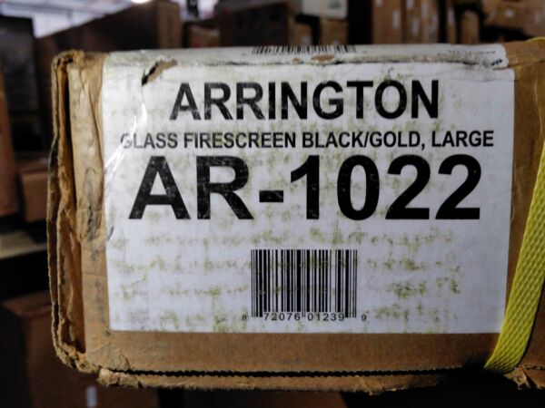 Arrington Large Glass Fireplace Doors by Pleasant Hearth