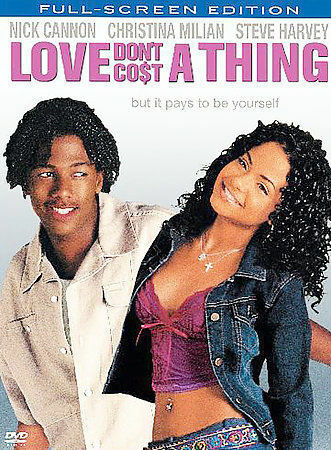 Love Dont Cost a Thing DVD Movie Widescreen Nick Cannon Christina Milian $10.00