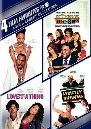 4 Film Favorites: Love amp; Laughs King#x27;s Ransom Love Don#x27;t Cost a Thing Strictl $8.49