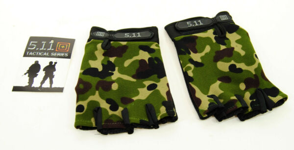 Evos Half Finger Cycling Gloves Tactical Series Camouflage Large