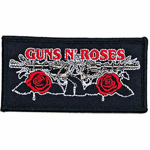 Guns N Roses Patch Iron On Vintage Pistols Collector#x27;s UK Import Licensed New
