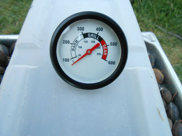 2 3 4quot; BBQ PIT SMOKER GRILL THERMOMETER TEMPERATURE GAUGE