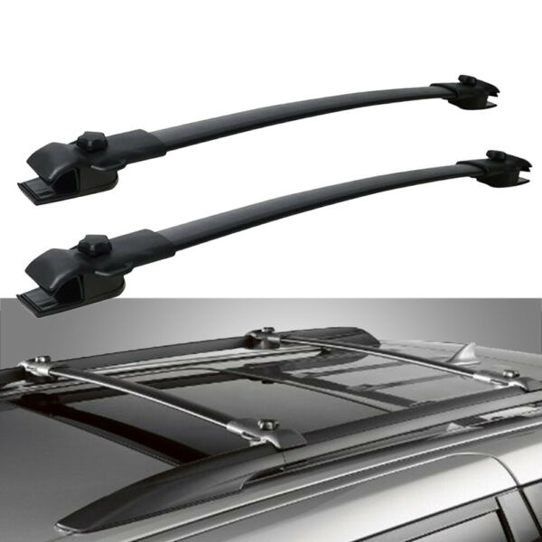 Top Roof Rack Cross Bars Luggage Carrier Aluminum Fits 2011 2020 Toyota Sienna $56.63