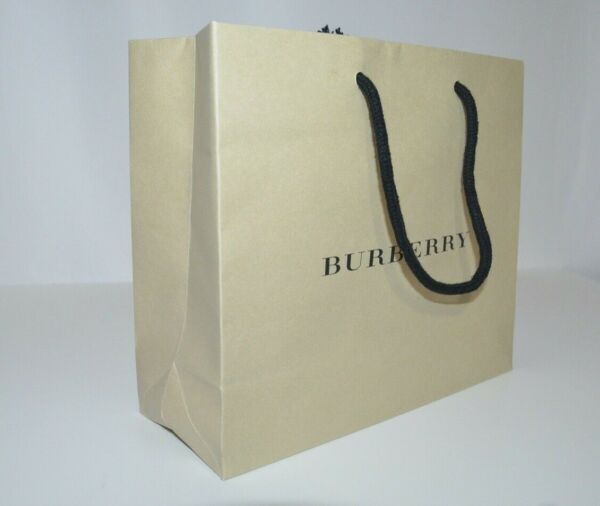 Burberry Gift Paper Bag 100% AUTHENTIC 14.5quot; x 12.5quot; x 4.5quot; $7.00