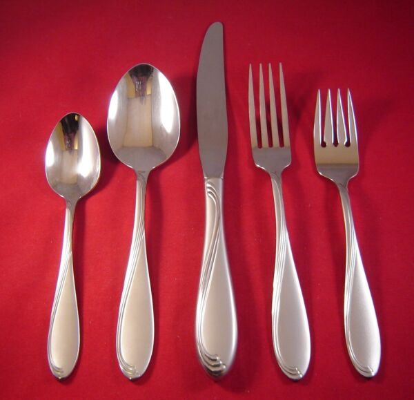 Oneida Satin Camber Stainless Flatware Your Choice USA NEW