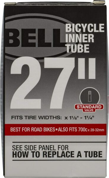 New Bell Bike Bicycle Tubes 27quot; x 1 1 8 1 1 4quot; Schrader 35mm with Cap $6.05
