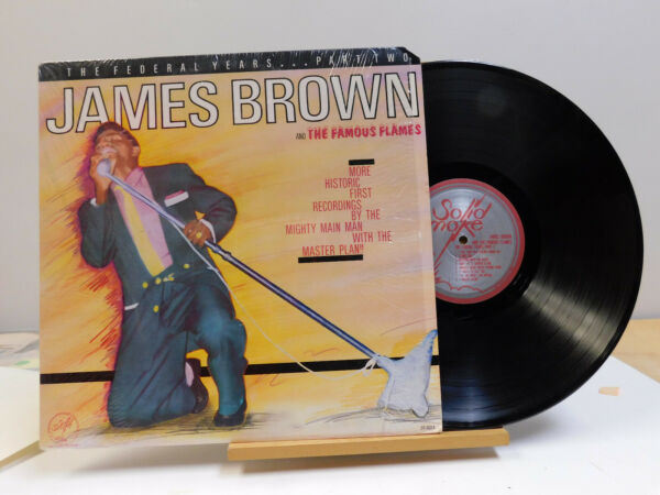 James Brown soul LP The Federal Years Part 2 on Solid Smoke