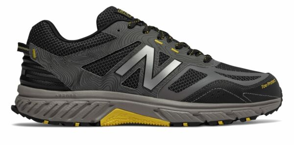 New Balance Men#x27;s 510v4 Trail Shoes Grey with Black