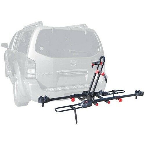 RACK 2 BIKE HITCH MOUNT Carrier Trailer Car Truck SUV Receiver Bicycle Transport $105.99